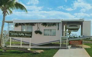 Norman Johnson's Upside-Down House.