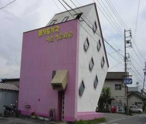 Japanese Upside-Down House
